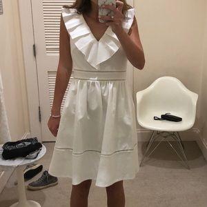 Kate Spade white cocktail dress